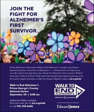 Join The  For Alzheimer's First Survivor.