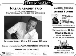 Nasar Abadey Trio