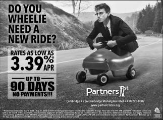 Do You Wheelie Need a New Ride?