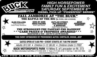 High Horsepower Family Fun & Excitement