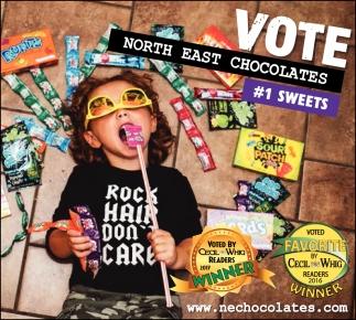 Vote North East Chocolates!