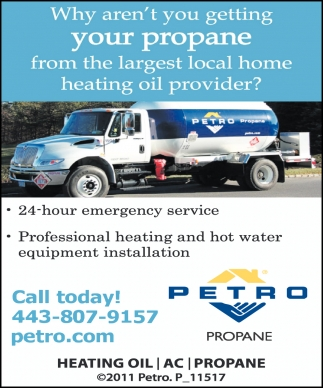 Why aren't you Getting your Propane from the Largest Local Home Heating Oil Provider?