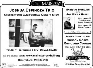 Joshua Espinoza Trio