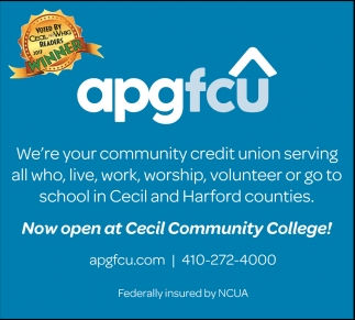 Now Open at Cecil Community College!