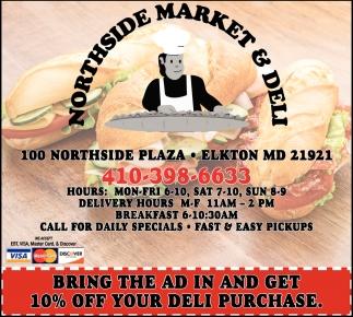 Northside Market & Deli, Northside Market & Deli, Elkton, MD