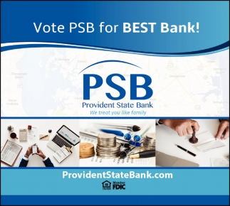 Vote PSB for Best Bank!