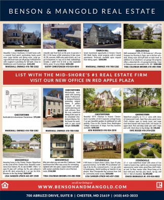 List with the Mid-Shore's #1 Real Estate Firm
