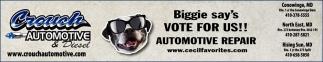 Biggie Say's Vote for Us!!