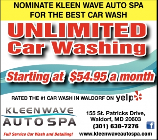 Unlimited Car Washing