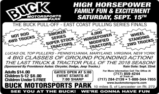High Horsepower Family Fun & Excitement