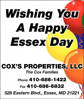 Wishing You a Happy Essex Day
