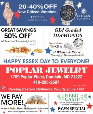 20-40% OFF New Citizen Watches