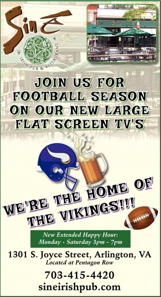 Join Us for Football Season