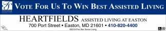 Vote for Us to Win Best Assisted Living