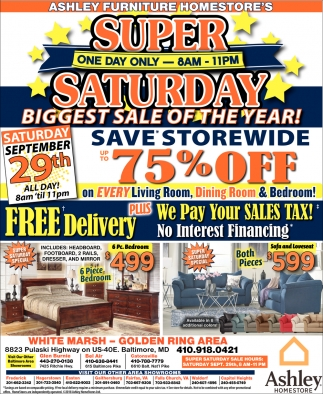 Suer SaturdayBiggest Sale of the Year!