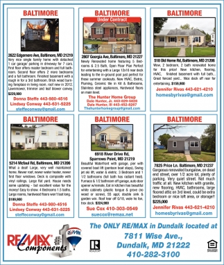 The Only Re/Max in Dundalk