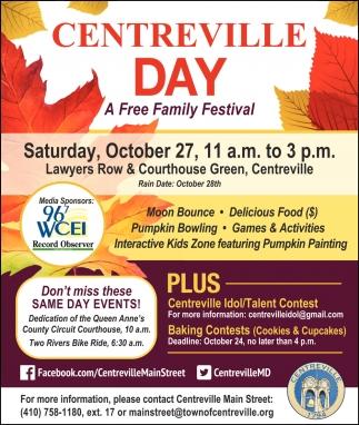 A Free Family Festival
