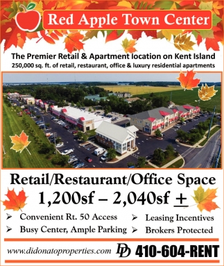The PremierRetail & Apartment Location on Kent Island