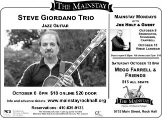 Steve Giodano Trio