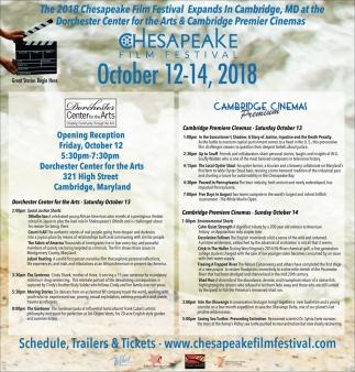 The 2018 Chesapeake Film Festival Expands in Cambridge