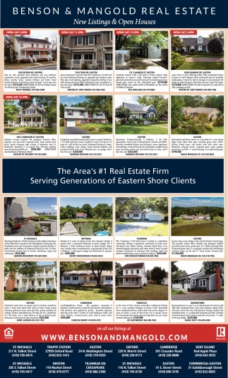 New Listing s & Open Houses