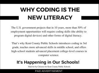 Why Coding is the New Literacy