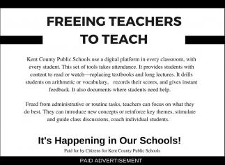 Freeing Teachers to Teach