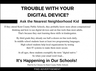 Trouble with your Digital Device?
