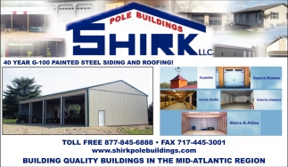 40 Year g-100 Painted Steel Sidingand Roofing
