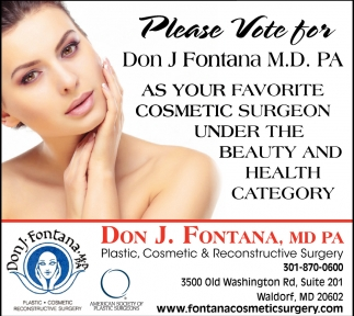 Favorite Cosmetic Surgeon