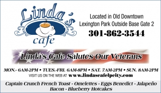 Linda's Cafe Salute Our Veterans