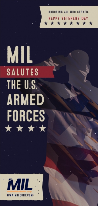 MIL Salutes the U.S. Armed Forces