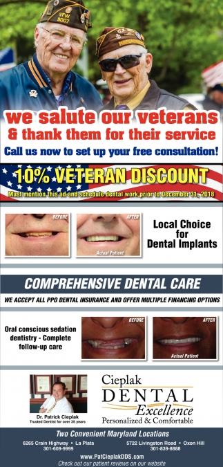 10% Veteran Discount