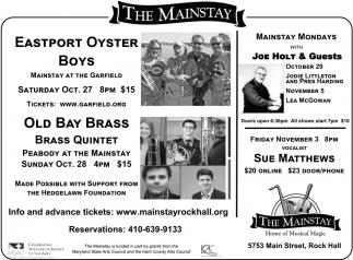 Eastport Oyster Boys