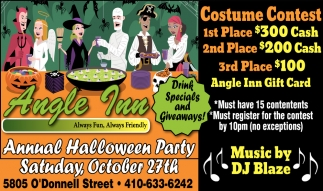 Annual Halloween Party