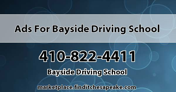 Ads for Bayside Driving School