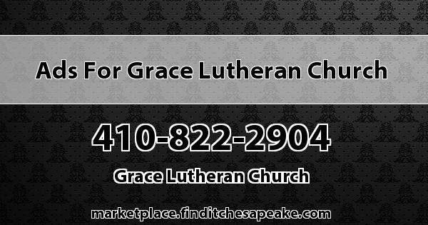 Ads for Grace Lutheran Church
