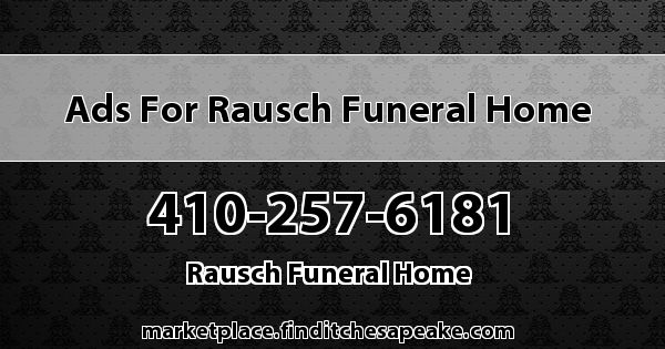 Ads for Rausch Funeral Home